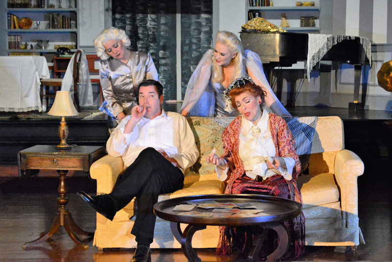 Spencer Theatre presents Blithe Spirit, February 21 through March 1
