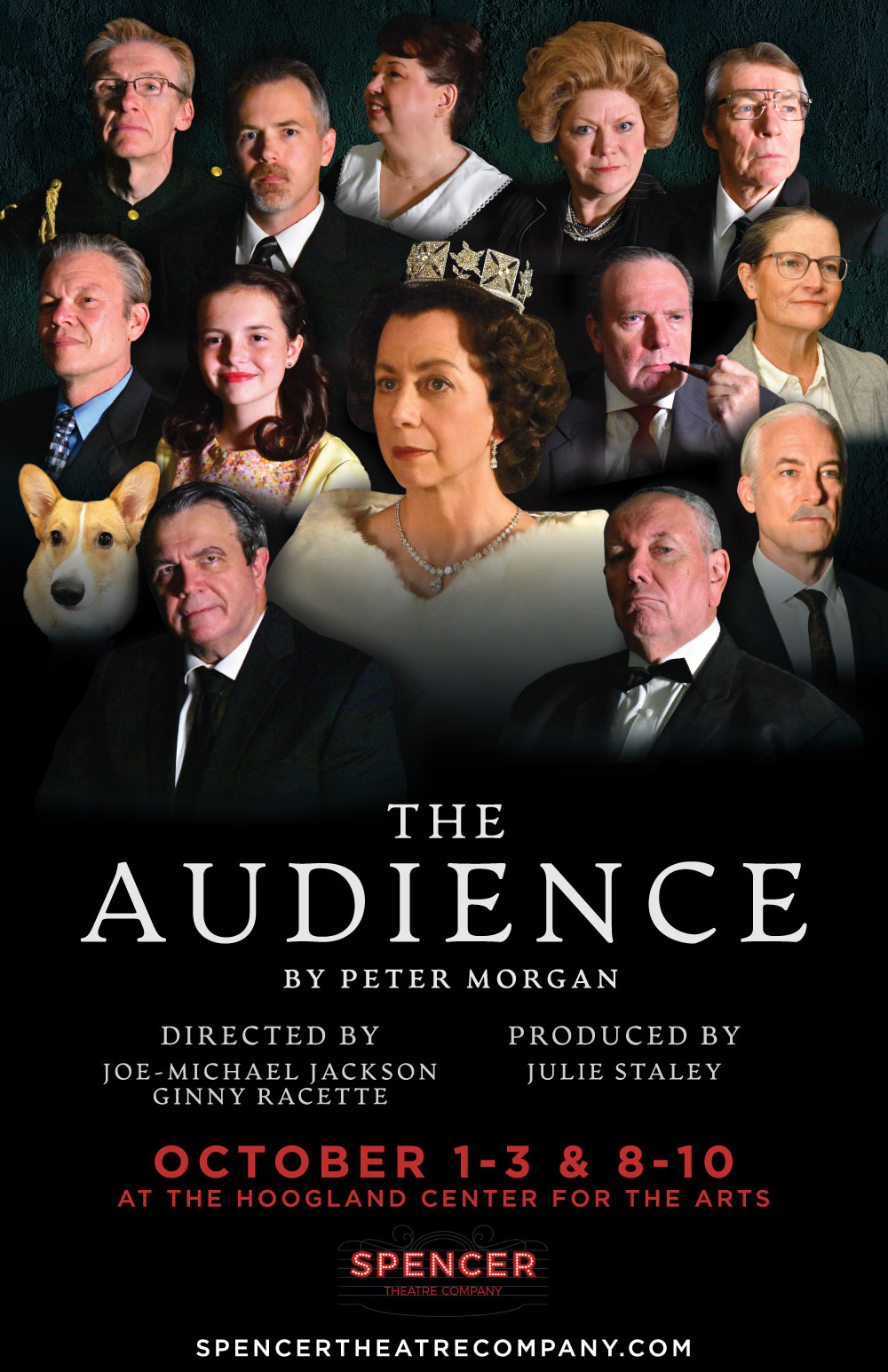 Spencer Theatre presents The Audience October 1-3 & 8-10